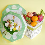 Fruit Basket with Baby Stuff