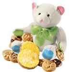 Baby's Buddy Bear with Blue Cookies