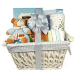 New Baby Boy Arrival Gift Basket
